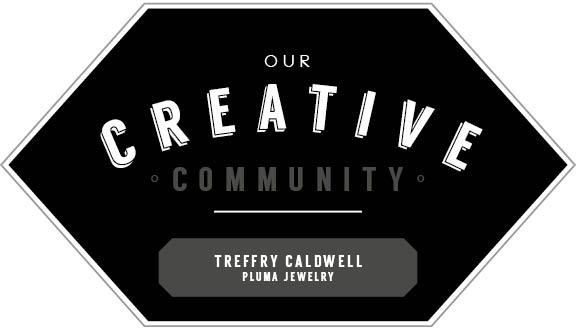hart and honey pluma jewelry creative community feature, columbus ohio