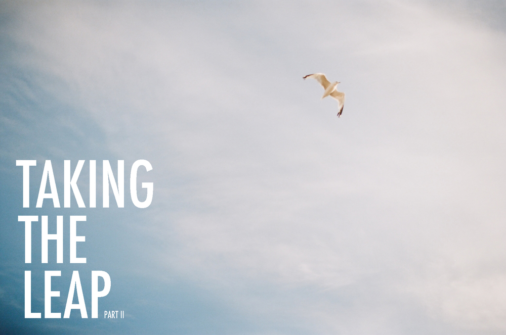 Taking the leap: five things to do before going out on your own. Hart and Honey Collective