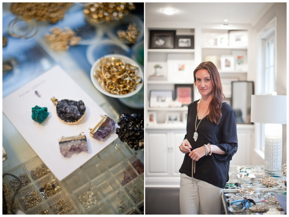 Treffry of Pluma Jewelry, photo by lily glass **see full interview here