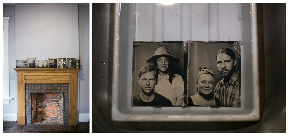 Hart + Honey visits Giles Clement, Tintype Portrait Photographer