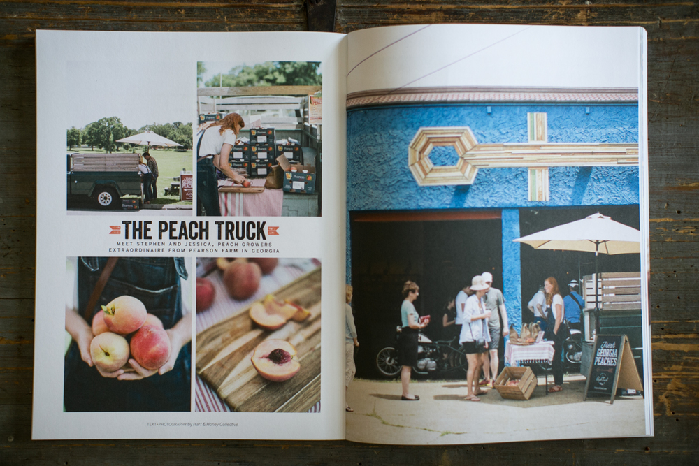 Sweet Paul , Hart & Honey, The Peach Truck at Barista Parlor