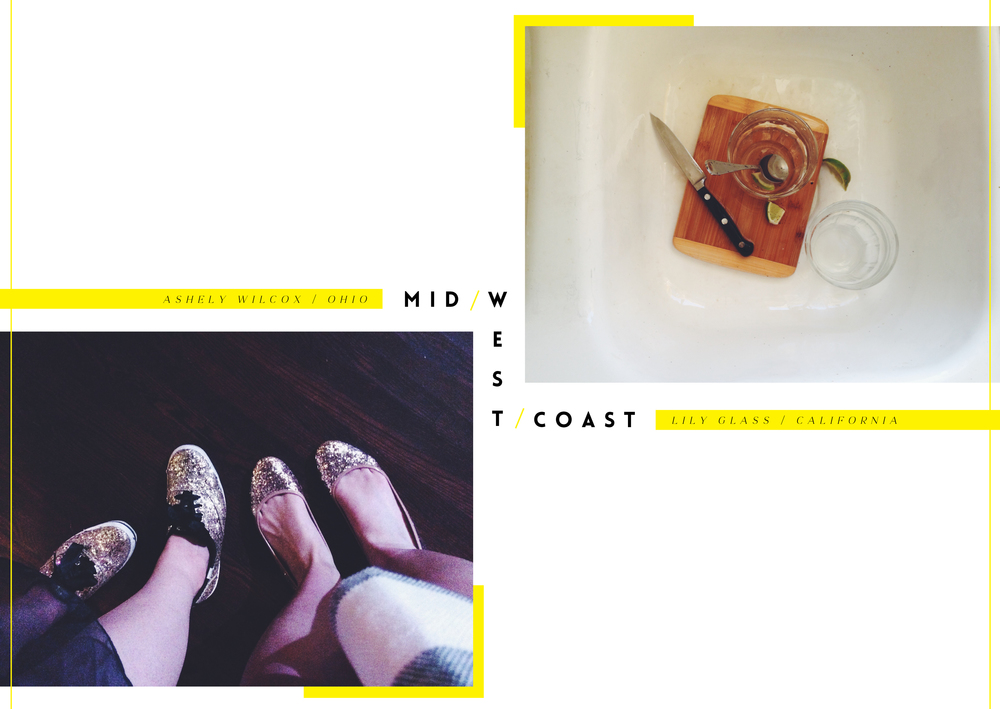 Midwest to West Coast  / Kate Spade Keds / Cocktail aftermath
