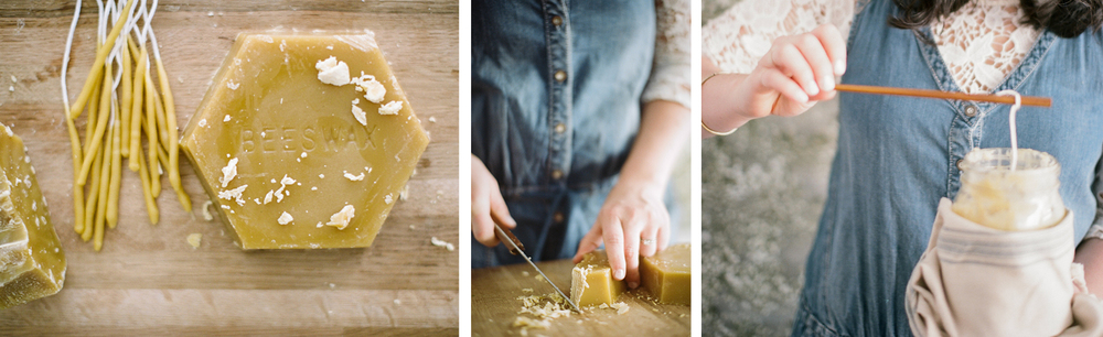 STUDY Journel : To Make, DIY Beeswax Birthday Candles / by Hart & Honey