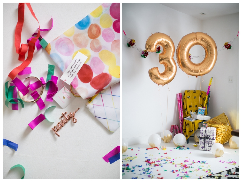 classy thirtieth birthday brunch