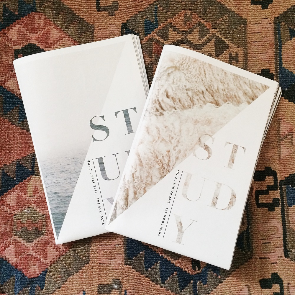 Hart & Honey / Study Journal / The Sea Issue / The Wool Issue