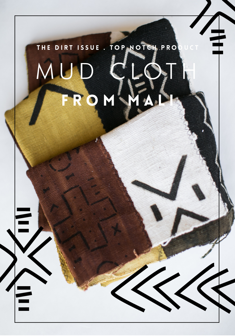 Mud cloth from Mali / giveaway / Hart & Honey's Study Journal