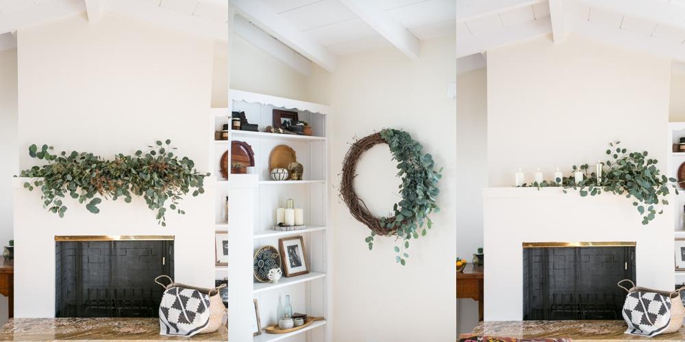 Decorating with Eucalyptus