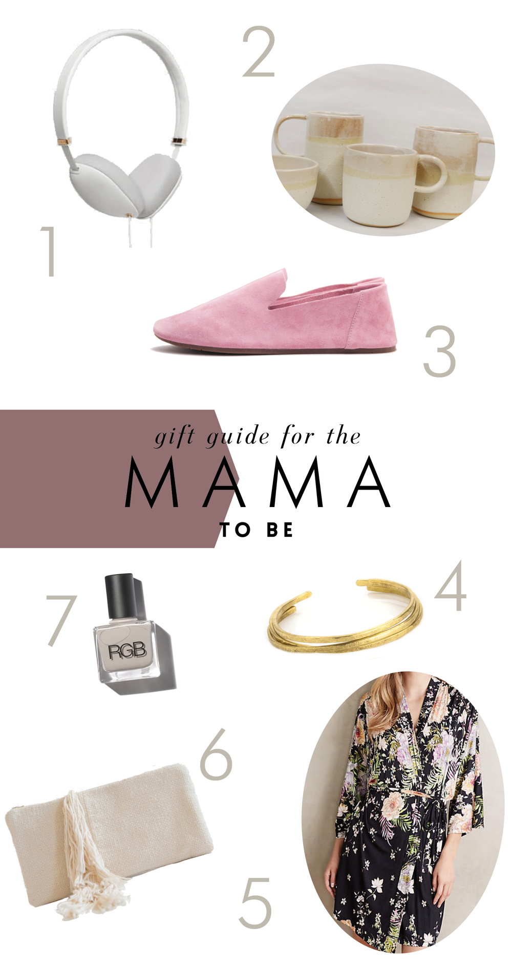 gift guide for the mom to be