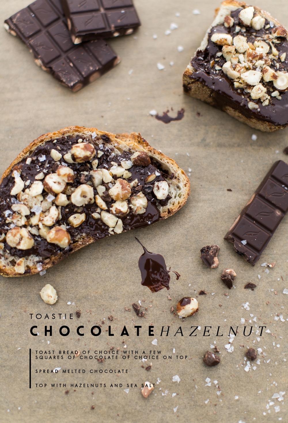 Chocolate Hazelnut Toast