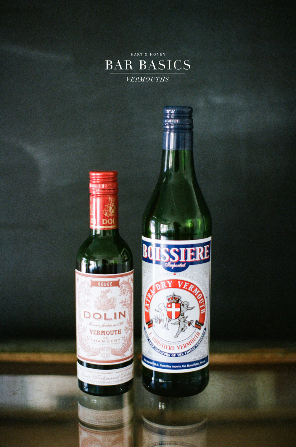 building your home bar : vermouths