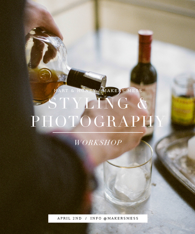 Styling + Photography workshop LA