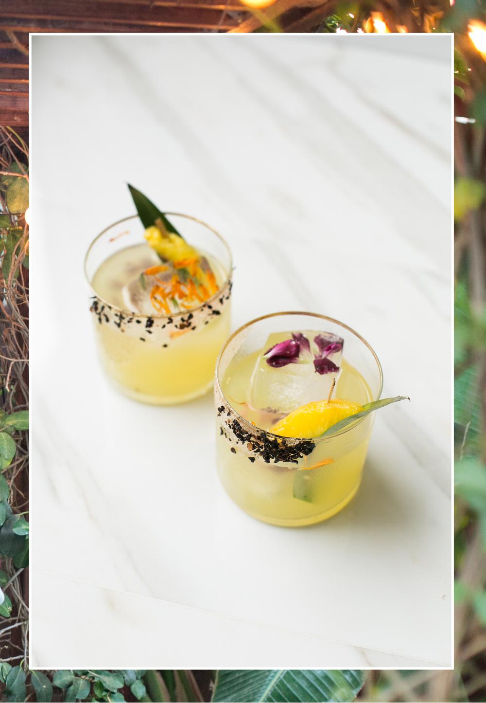 Spicy Pineapple Mezcal Margarita