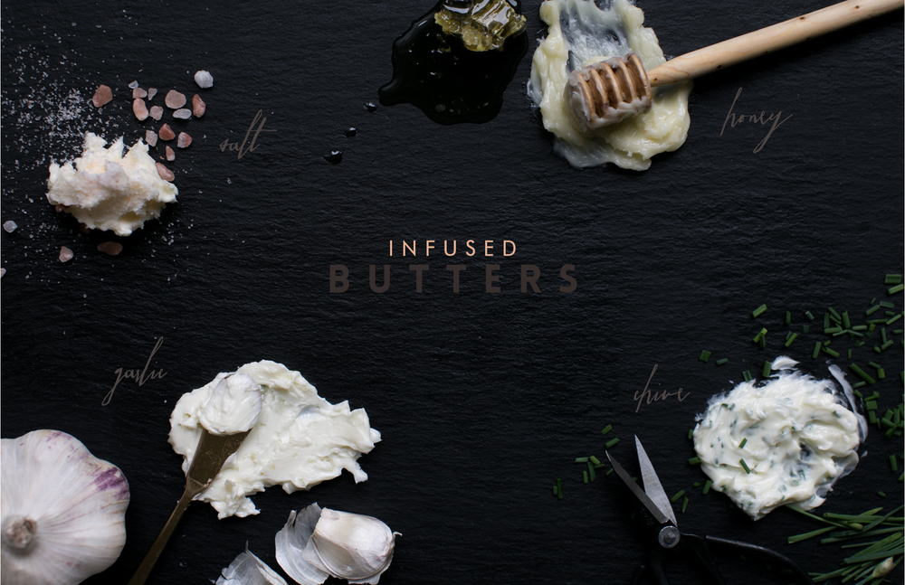 flavor infused butter