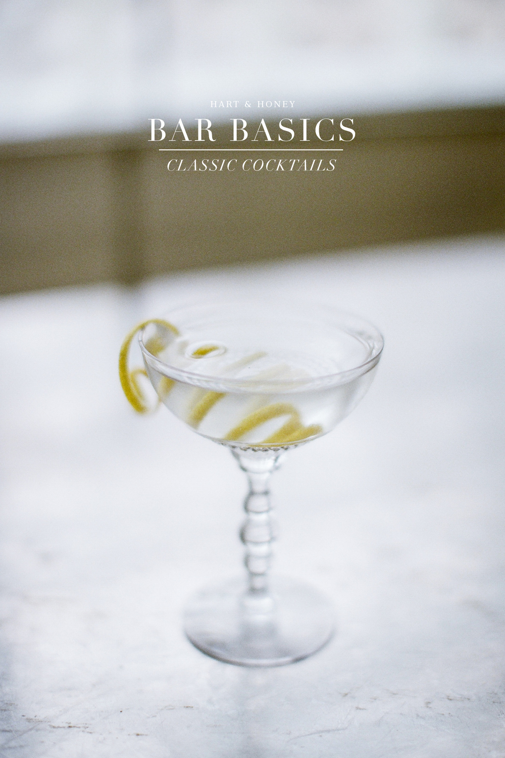 Home Bar, Martini