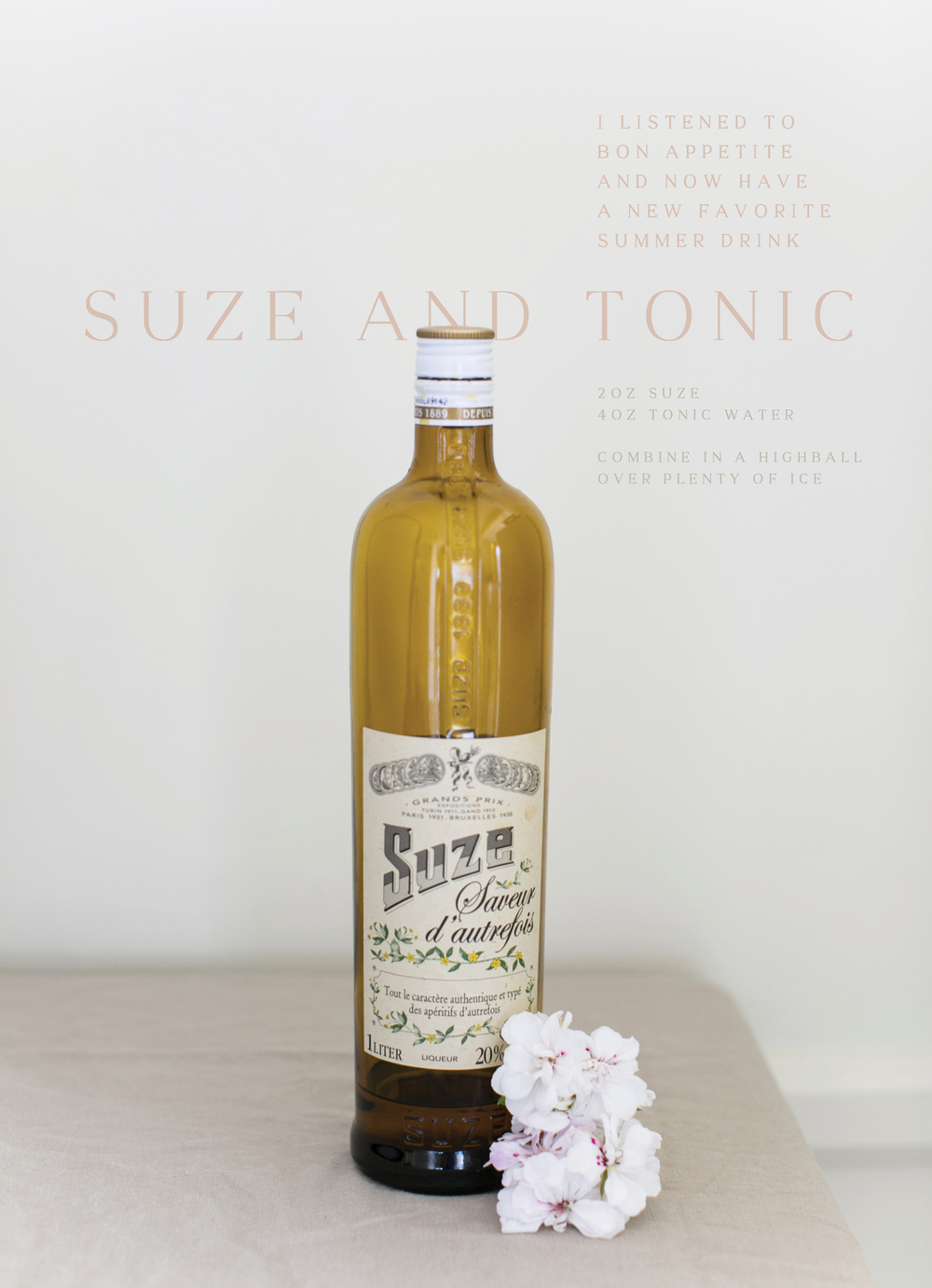 Suze And Tonic
