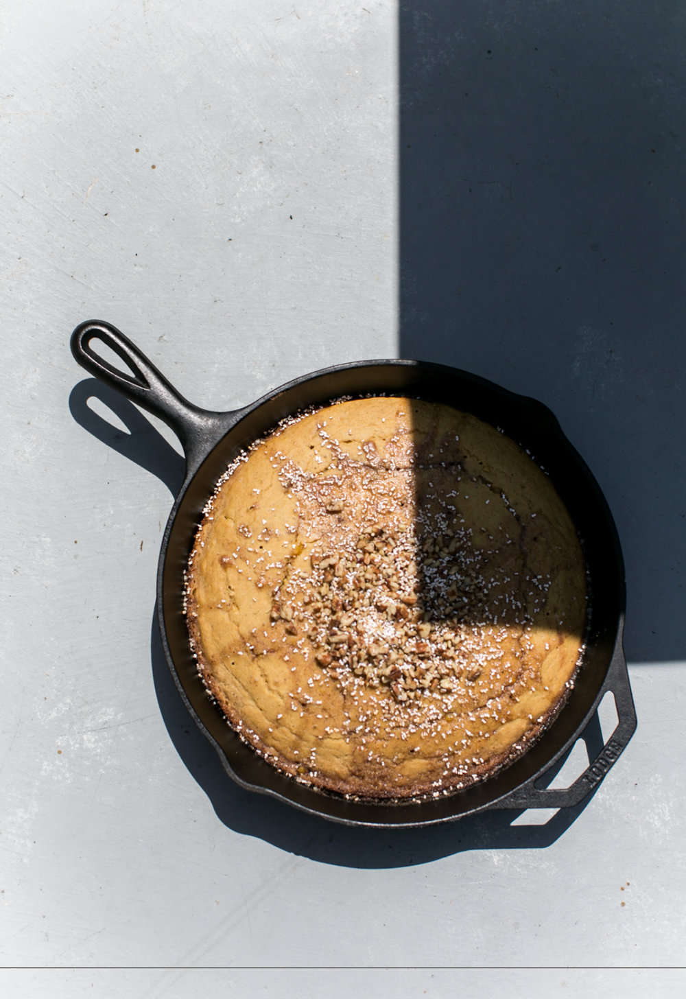 Cornbread with Puffed Amaranth and Toasted Pecans