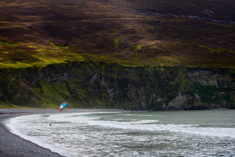 Kitesurfing in Achill
