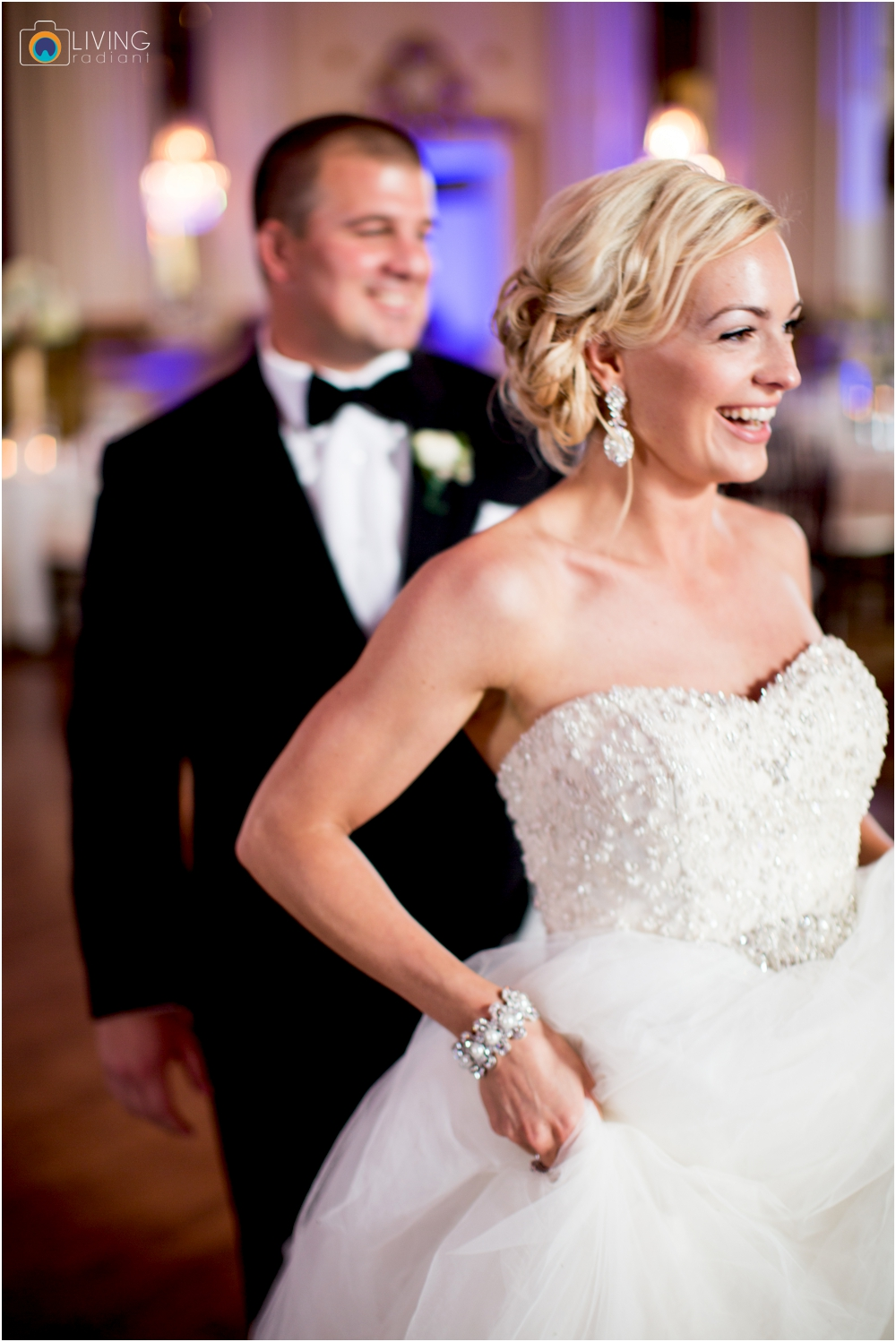 A Baltimore Elegant Ballroom Wedding at the Belvedere Hotel by Living Radiant Photography