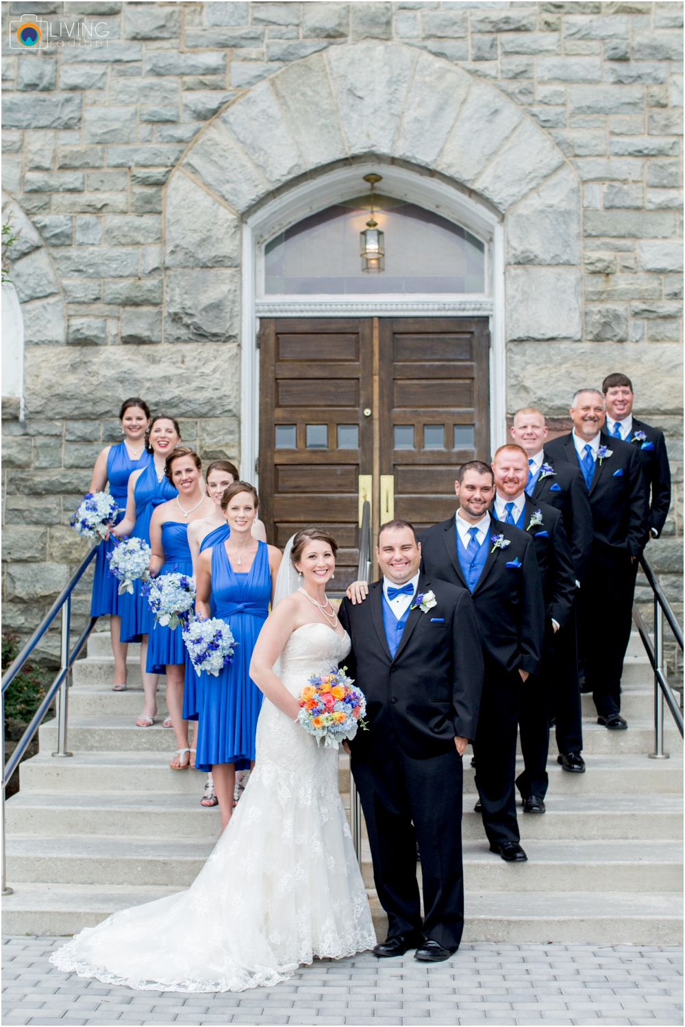 A Jarrettsville Church Wedding at Jarrettsville Gardens Photos by Living Radiant Photography