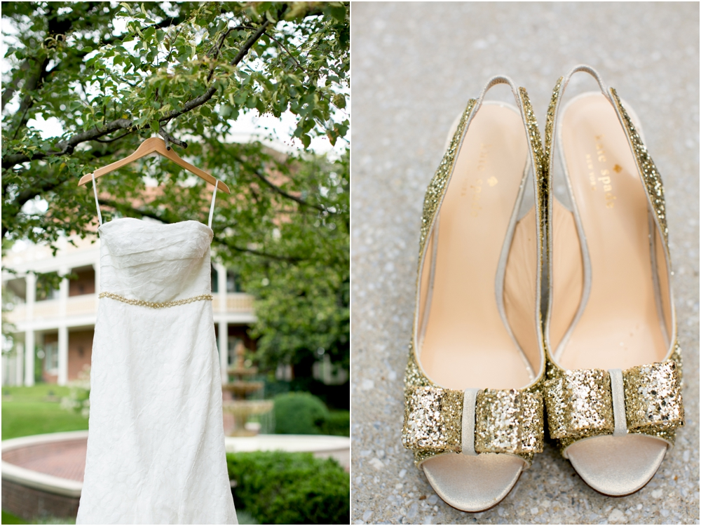 A Gold & White Inspired Mt Washington Mill Dye House Wedding | Living Radiant Photography