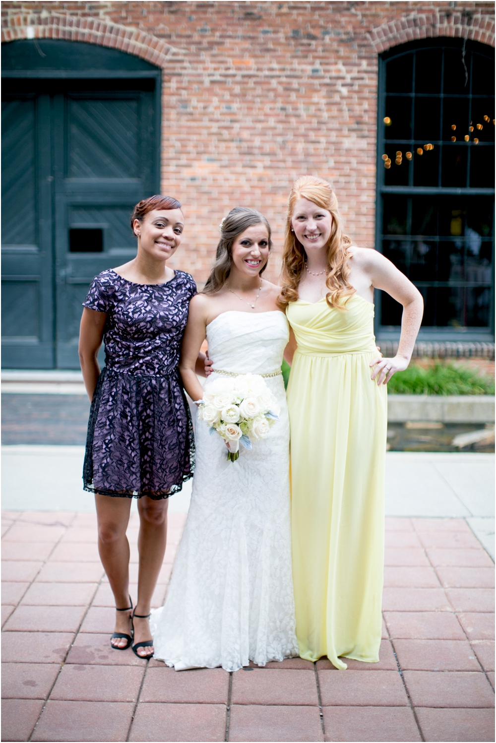 A Gold & White Inspired Mt Washington Mill Dye House Wedding | Living Radiant Photography | Michael Kors & Kate Spade Wedding