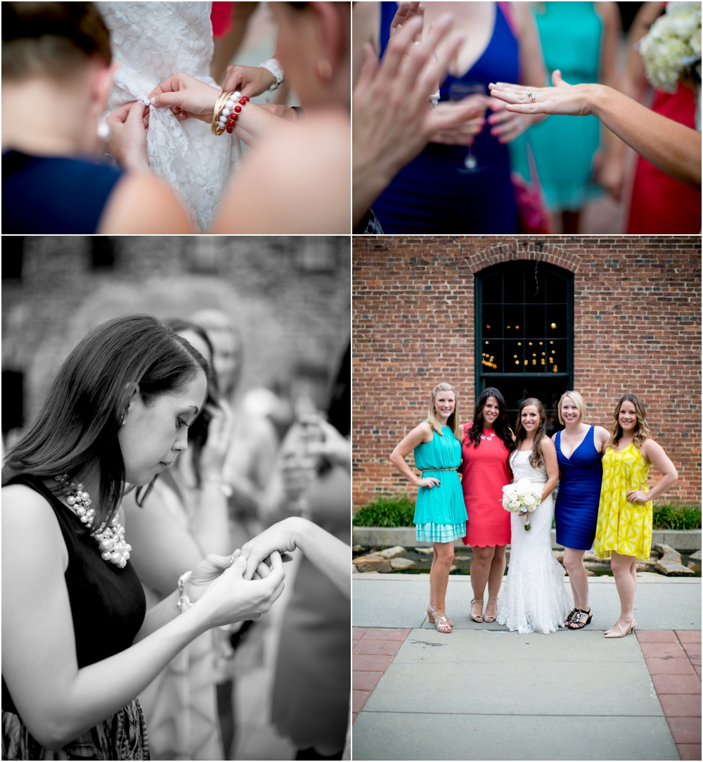 A Gold & White Inspired Mt Washington Mill Dye House Jewish Wedding | Living Radiant Photography | Michael Kors & Kate Spade Wedding