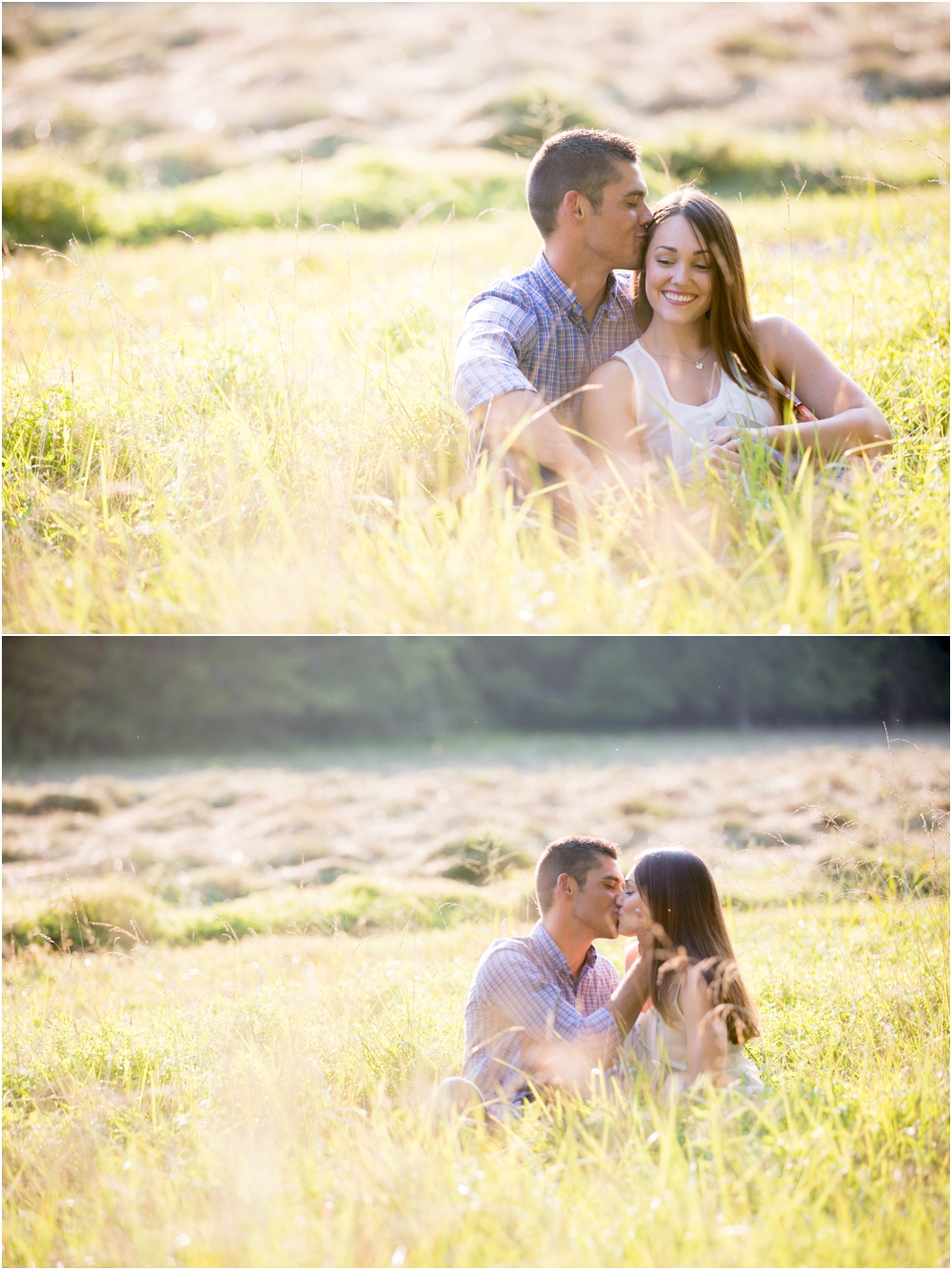 Erin & Collin {engaged} | Jerusalem Mill Village Engagement Session | Jerusalem, Maryland | Living Radiant Photography | Field Engagement