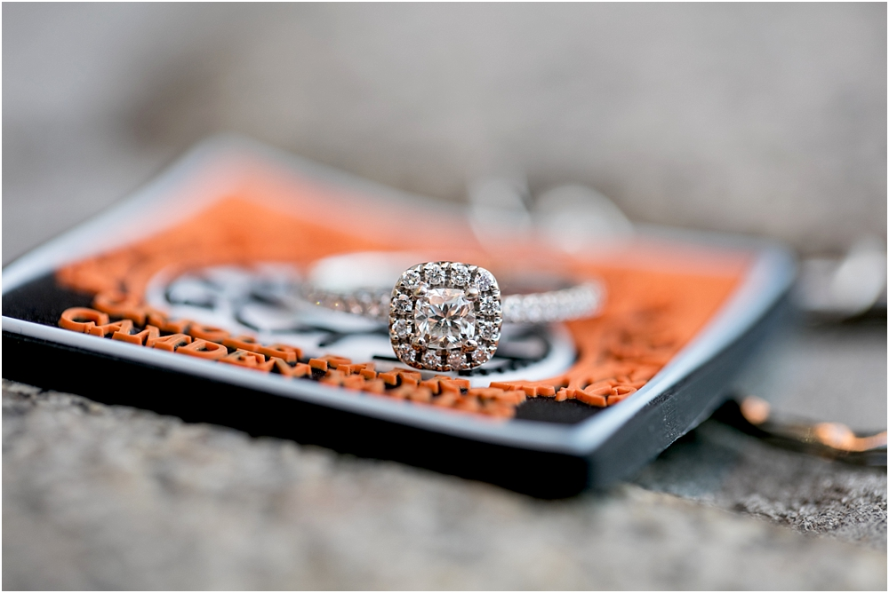 Camden Yard Oriole Park Downtown Baltimore Engagment Session | Living Radiant Photography | Best Baltimore Wedding Photographers