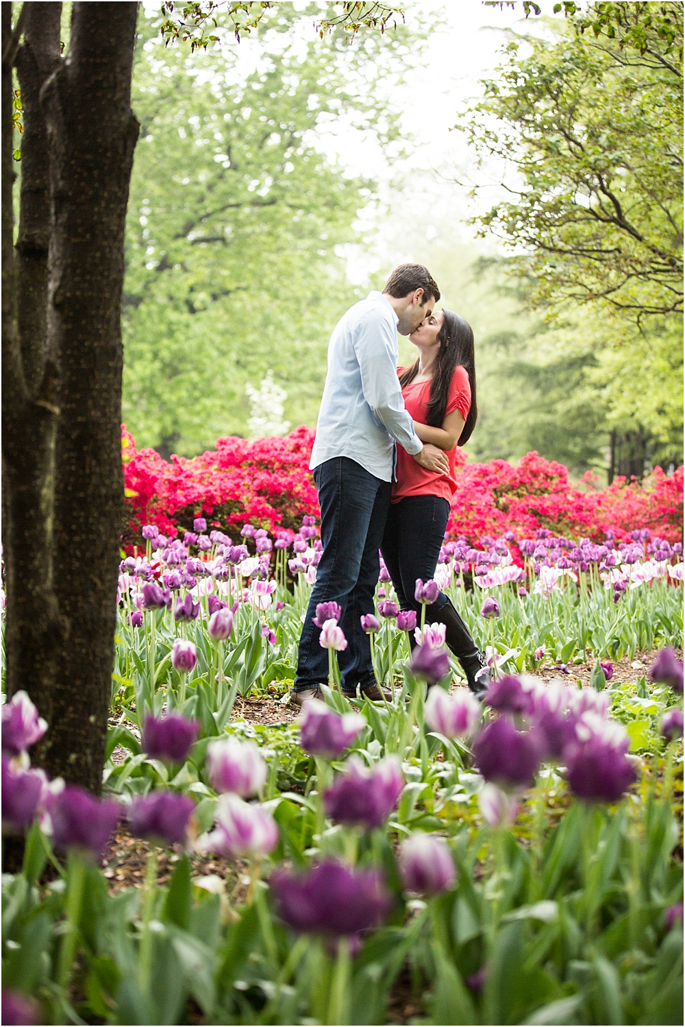 Sherwood Gardens Engagement Session Fadi Stephanie Living Radiant Photography_0008.jpg