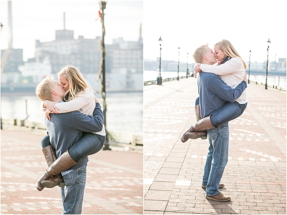 Jenna Robert Fells Point Baltimore Engagement Session Living Radiant Photography photos-22.jpg