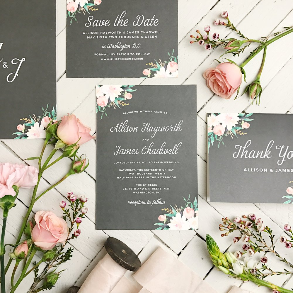 Living radiant photography weddings guest blogger basic invite trust me it will be tough they have over 200 wedding invitation designs and more than 180 color options to choose from you will be in stationery design stopboris Image collections