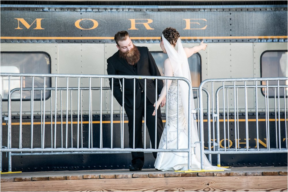 Brown Wedding Baltimore B&O Railroad Museum Wedding Living Radiant Photography photos_0015.jpg