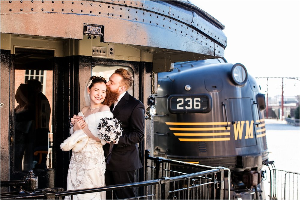 Brown Wedding Baltimore B&O Railroad Museum Wedding Living Radiant Photography photos_0021.jpg