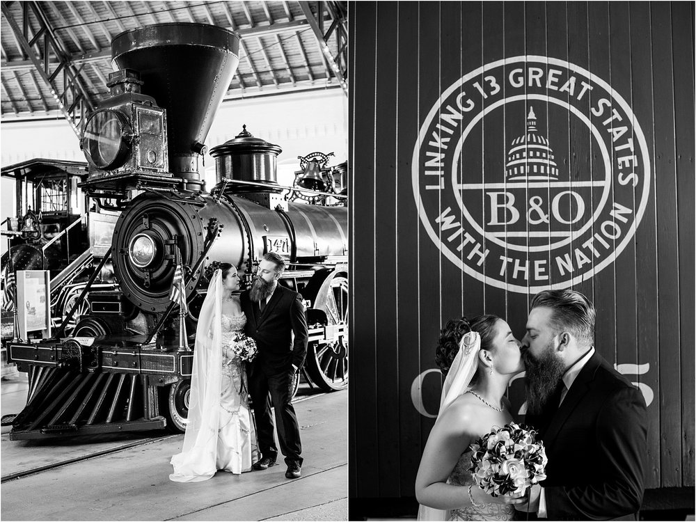 Brown Wedding Baltimore B&O Railroad Museum Wedding Living Radiant Photography photos_0023.jpg