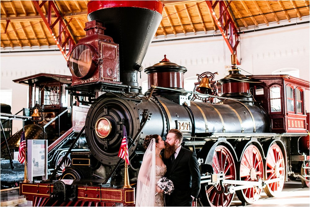 Brown Wedding Baltimore B&O Railroad Museum Wedding Living Radiant Photography photos_0024.jpg