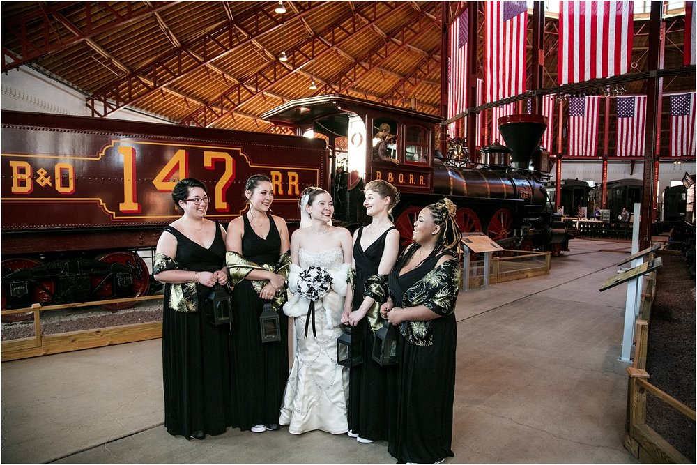 Brown Wedding Baltimore B&O Railroad Museum Wedding Living Radiant Photography photos_0030.jpg