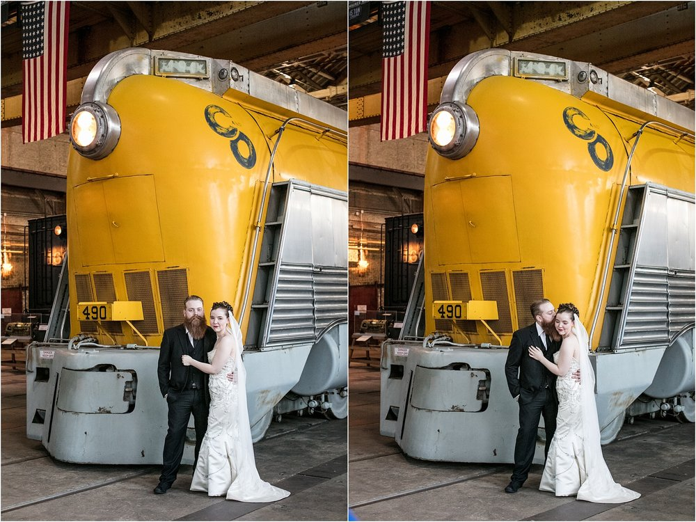 Brown Wedding Baltimore B&O Railroad Museum Wedding Living Radiant Photography photos_0041.jpg