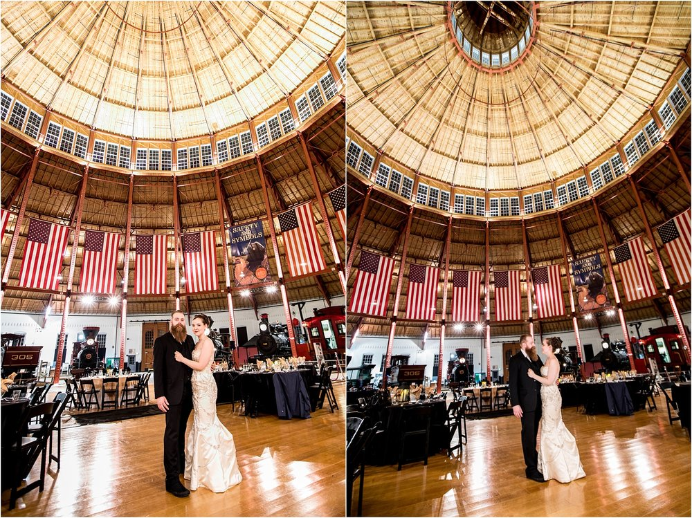 Brown Wedding Baltimore B&O Railroad Museum Wedding Living Radiant Photography photos_0050.jpg