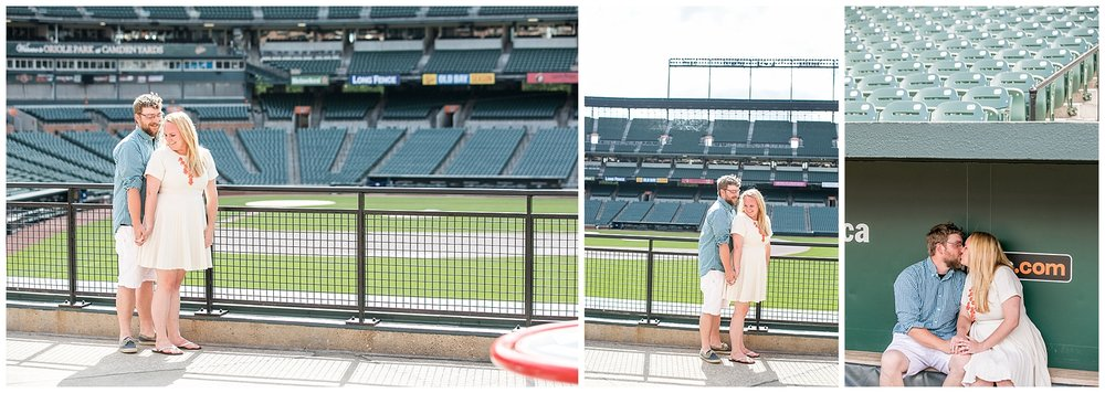 Tess Ray Camden Yards Engagement Session Living Radiant Photography photos_0002.jpg