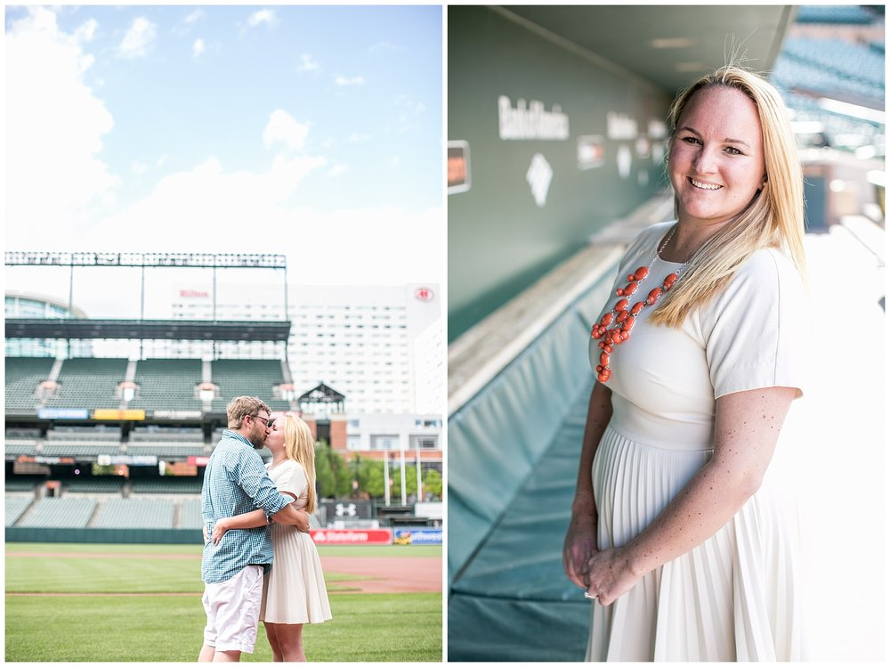 Tess Ray Camden Yards Engagement Session Living Radiant Photography photos_0009.jpg