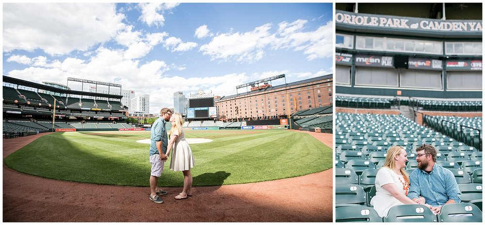 Tess Ray Camden Yards Engagement Session Living Radiant Photography photos_0013.jpg