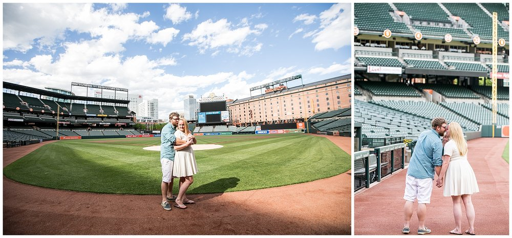 Tess Ray Camden Yards Engagement Session Living Radiant Photography photos_0014.jpg