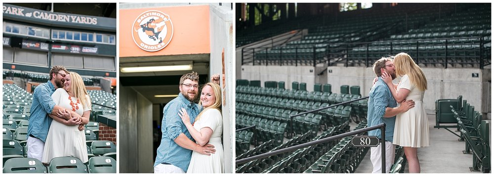Tess Ray Camden Yards Engagement Session Living Radiant Photography photos_0020.jpg