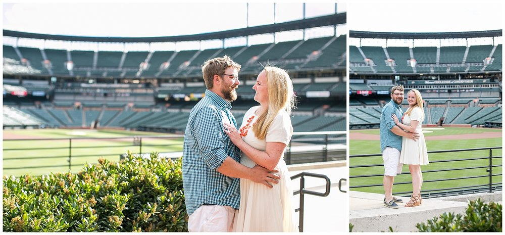 Tess Ray Camden Yards Engagement Session Living Radiant Photography photos_0024.jpg