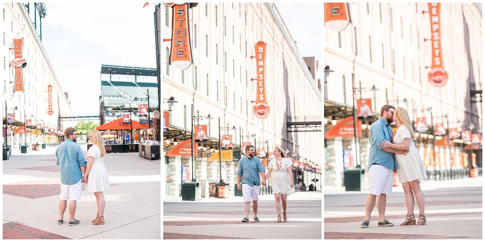 Tess Ray Camden Yards Engagement Session Living Radiant Photography photos_0035.jpg
