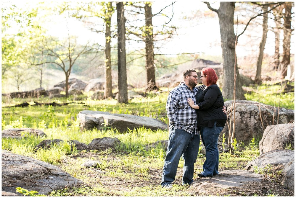 Katt Nick Gettysburg Engagement Session Living Radiant Photography photos_0036.jpg