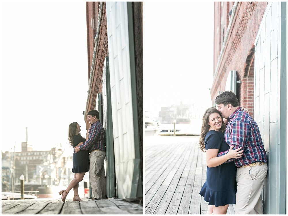 Genevieve Alex Fells Point Engagement Session Living Radiant Photography photos_0020.jpg