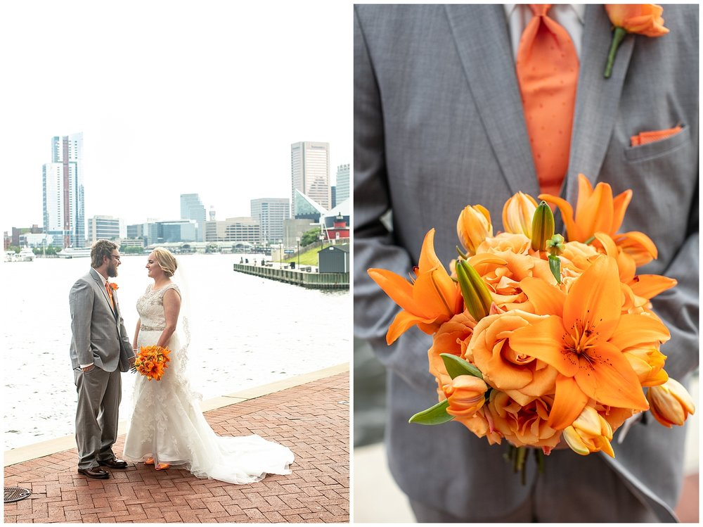 Orioles Wedding | Baltimore Best Wedding Photographers | Baltimore Museum of Industry Weddings
