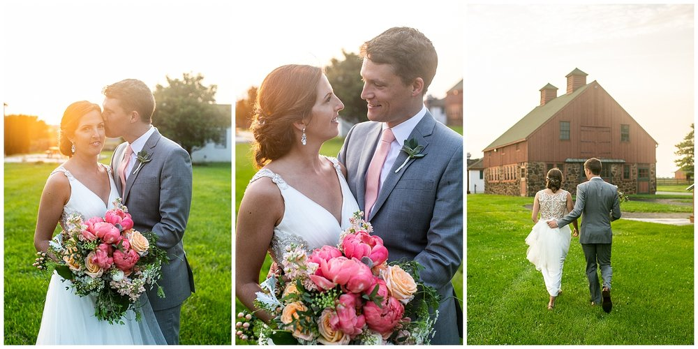Bohemia River Overlook Wedding | Baltimore Best Wedding Photographers | Baltimore Weddings | Pink Bridesmaids Dresses | Peony Bouquet | Living Radiant Photography