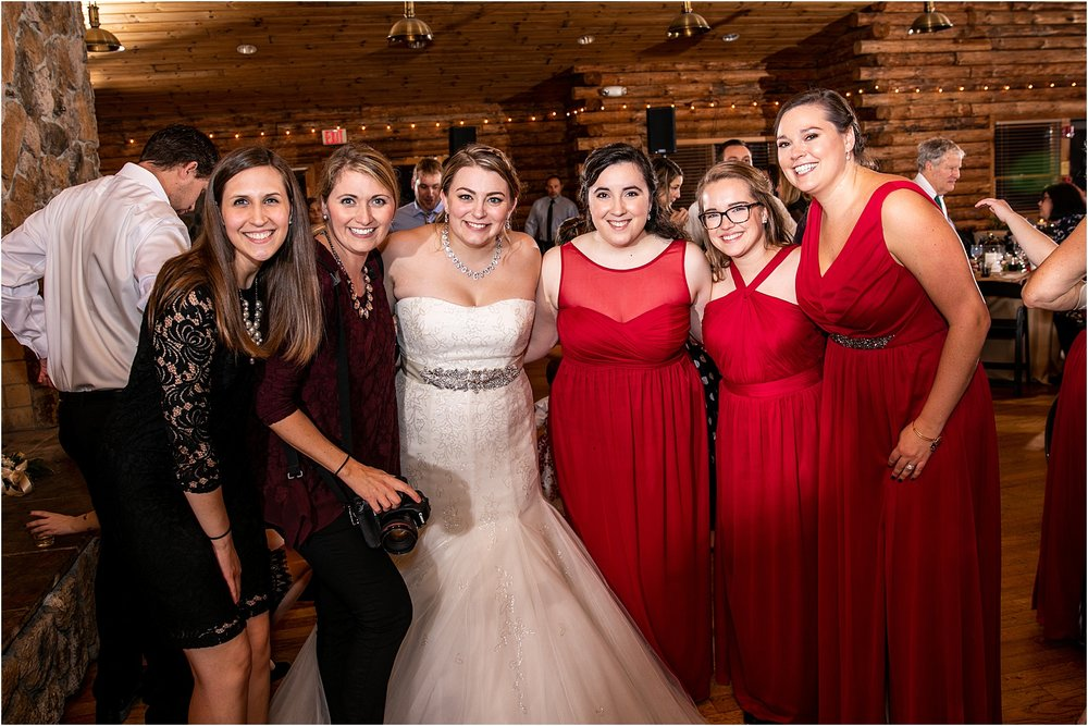 That time we shot a wedding and 5 of my brides were there… It was a dream come true. Love these babes.